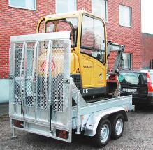 Fogelsta släpvagn Minitrack